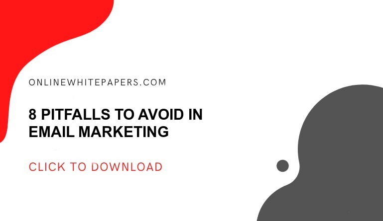 8 Pitfalls to Avoid in Email Marketing